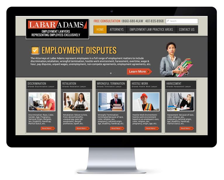 orlando web design Employment Lawyer
