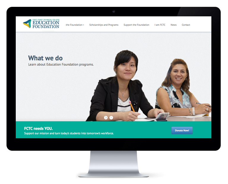 orlando web design FCTC Foundation