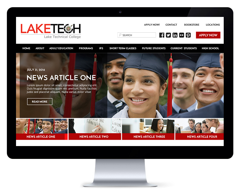 orlando web design Lake Tech