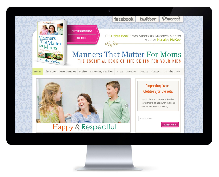 orlando web design Manners that Matter
