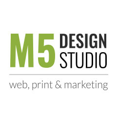 m5 design studio logo