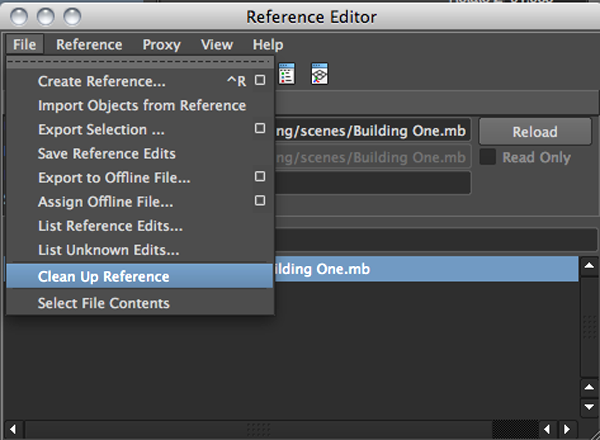 reference editor