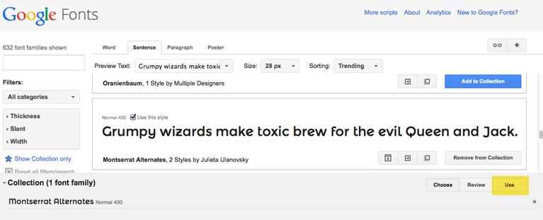 use-google-font