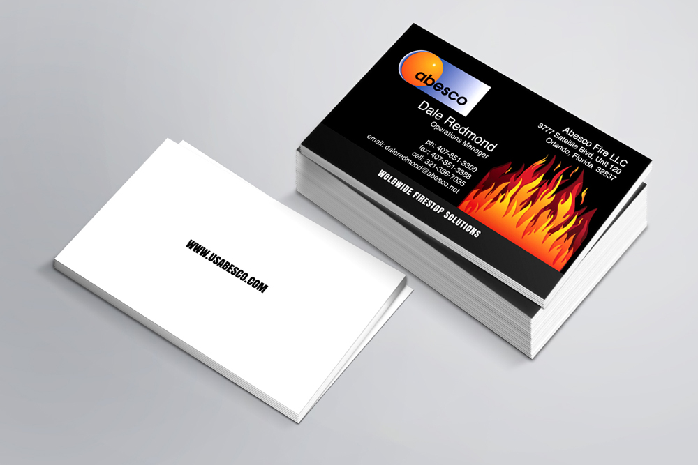 Orlando Graphic Design | Online Start-Up Business Card |
