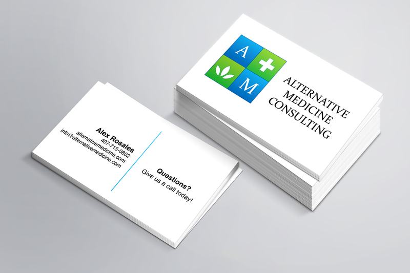 Consulting business card design best business cards for Medical design consultancy