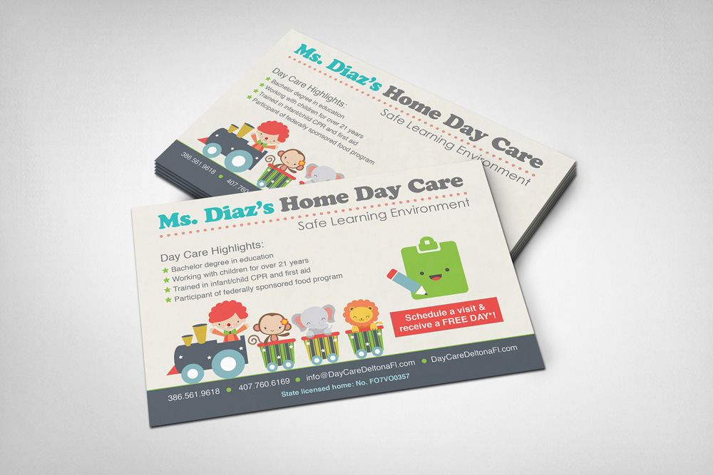 Orlando Graphic Design Daycare