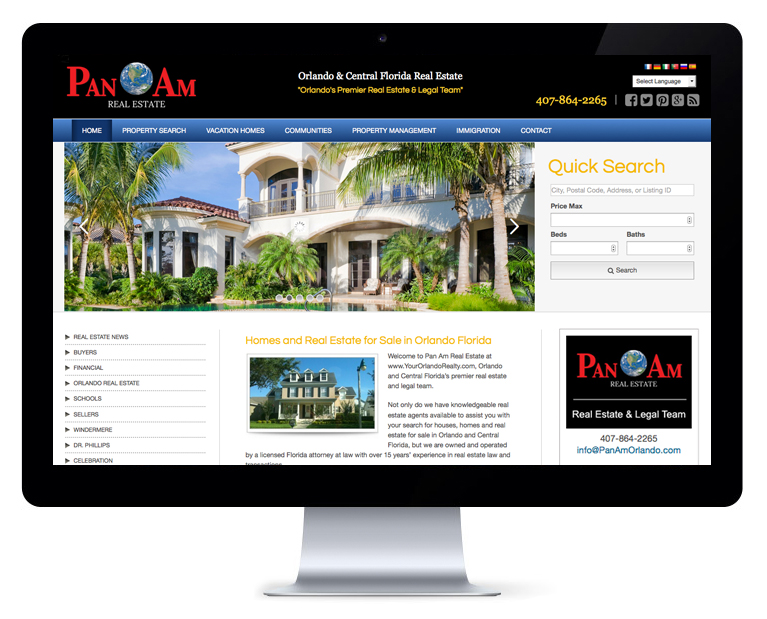 orlando web design Your Orlando Real Estate