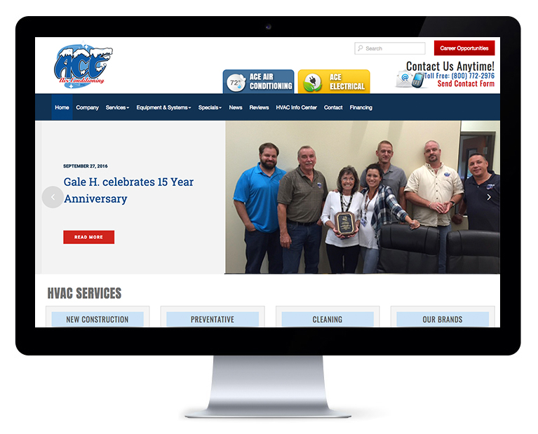 Orlando web design ACE