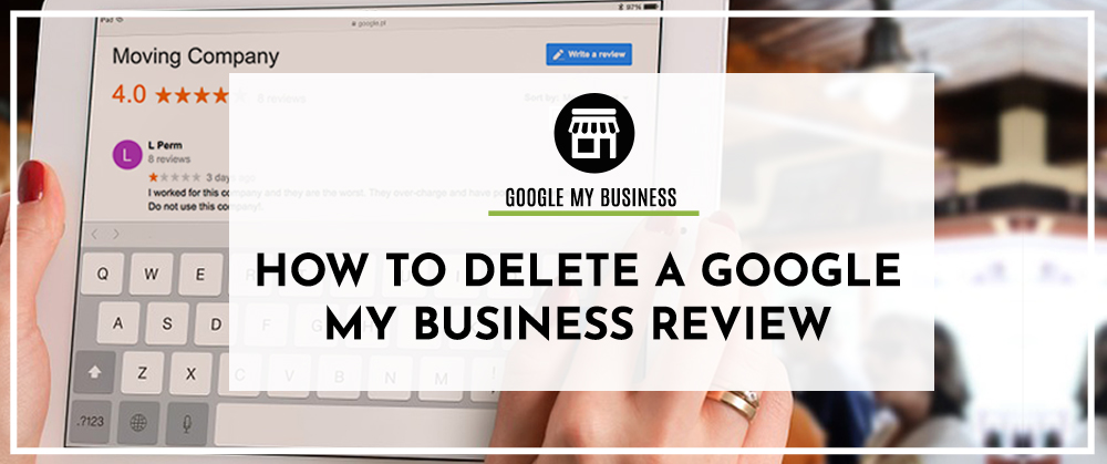 how to delete google review
