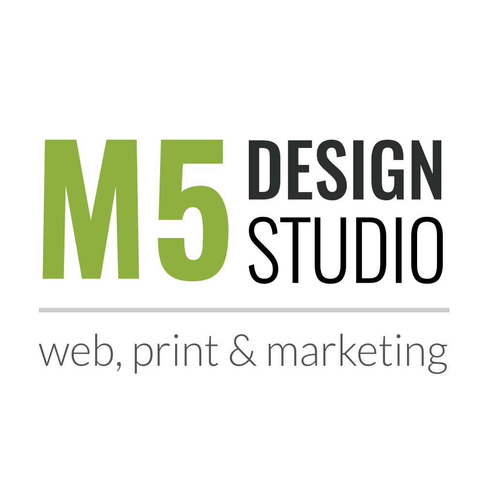 m5 design studio logo