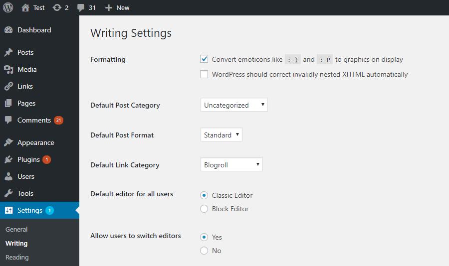 Text Editor plugin For WordPress sites
