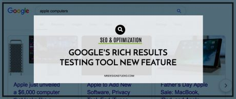 Google's Rich Results Testing Tool New Feature