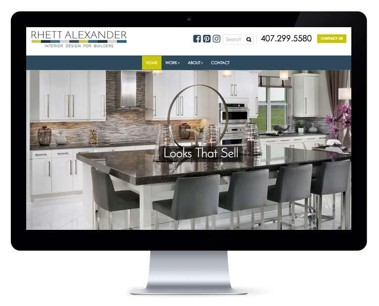 orlando web design interior design