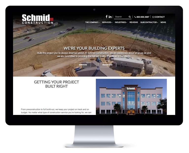 orlando web design construction