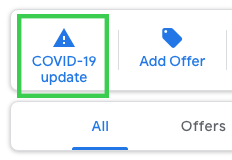 how to add covid 19 update