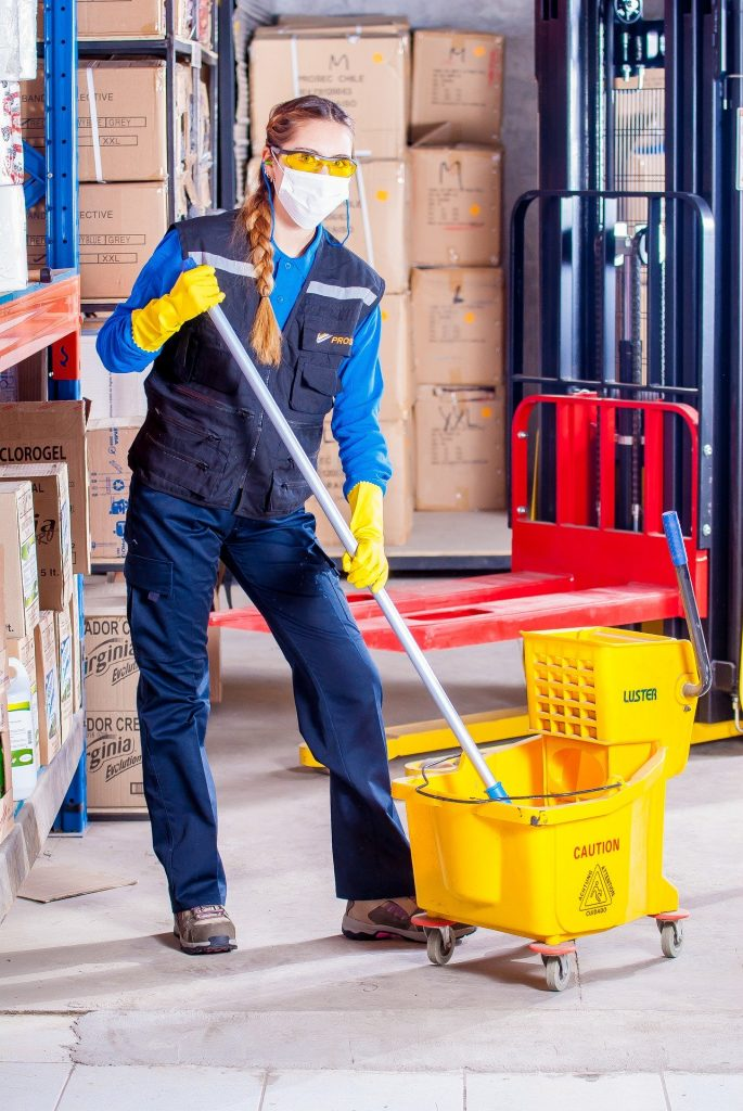 worker ppe photo google business post