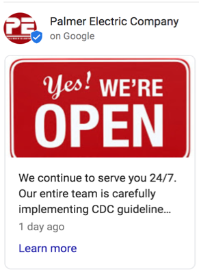 improve online presence covid19 google update