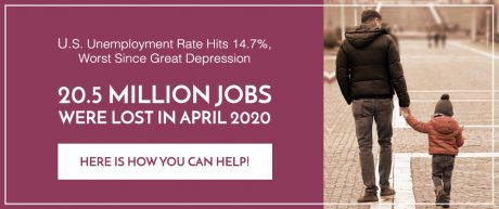 As Unemployment Hits 14.7%, Here Are Ways You Can Help