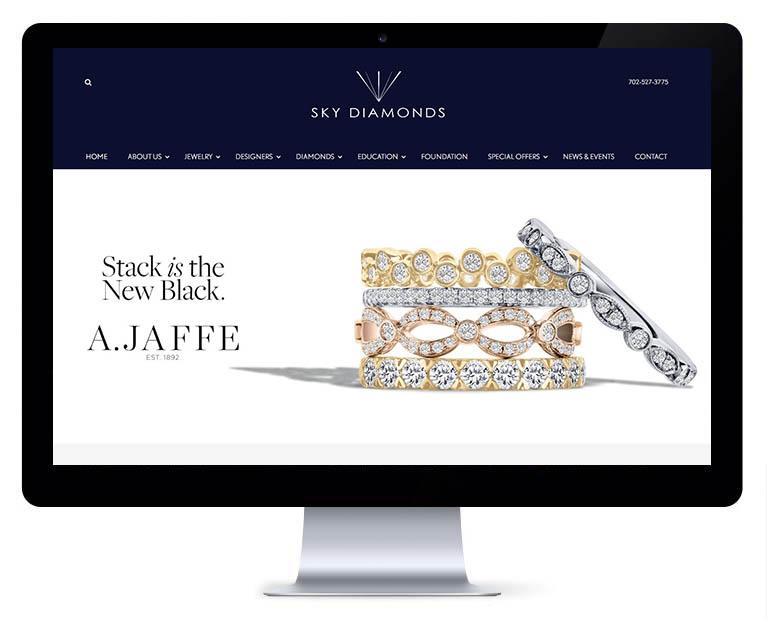 orlando web design sky diamonds