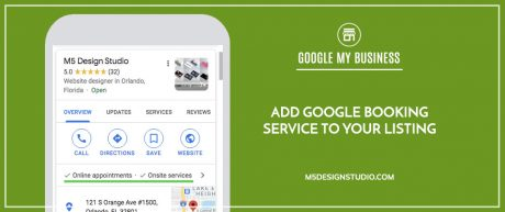 Add Google Booking Service to Your Listing