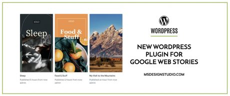 New WordPress Plugin for Google Web Stories