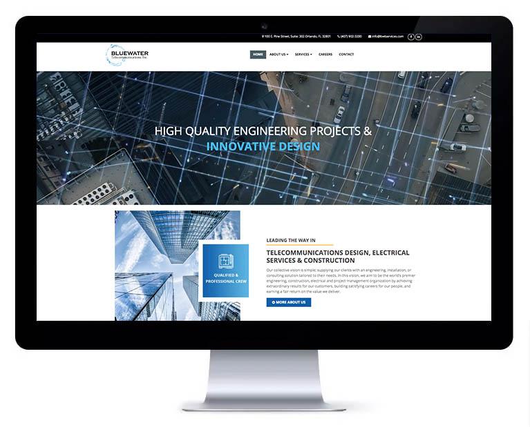 Orlando web design telecommunication services
