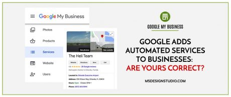 Google Adds Automated Services to Businesses: Are Yours Correct?