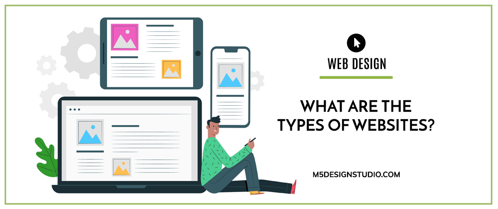 what are the types of websites
