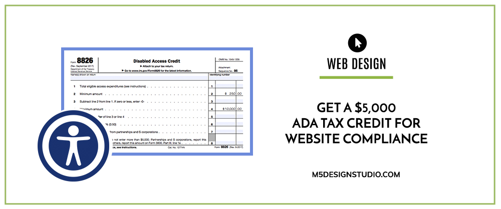 Get a $5,000 ADA Tax Credit for Website Compliance