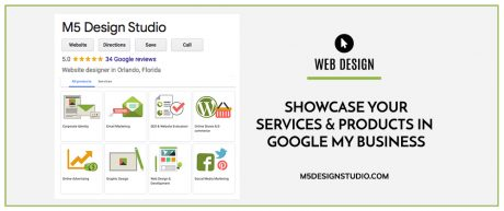 Showcase Your Services & Products in Google My Business